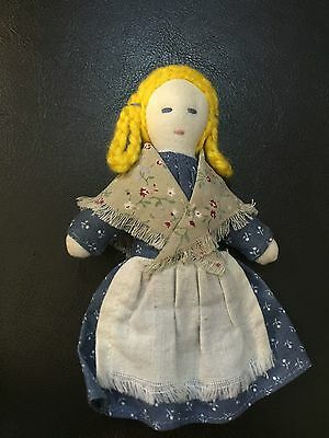 American Girl Doll Kirsten Retired Sari Rag Doll Tagged ONLY