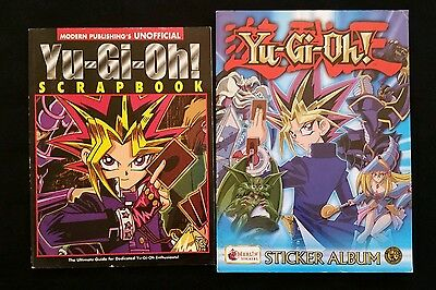 Yu-Gi-Oh Duelist 3 / Scrapbook Unofficial Guide/ Sticker Album *Stckrs not incl.