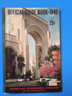 1940 Official Guide to Golden Gate International Exposition