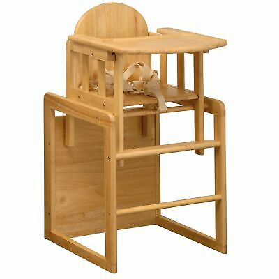 East Coast Nursery Baby / Child / Kid Combination Natural Wooden Highchair
