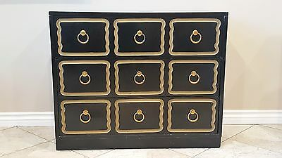 Hollywood Regency Dorothy Draper Style ESPANA Dresser Chest Buffet w/ Marble Top