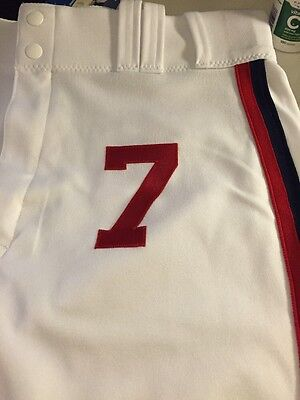 Jimmy Rollins 2016 TBTC 1983 Chicago White Sox GAME USED Majestic Baseball Pants