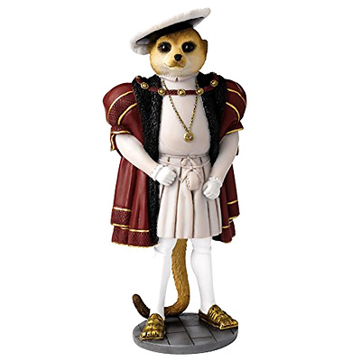 Character Collectible Decorative Home Design Figurine Magnificent Meerkats Henry