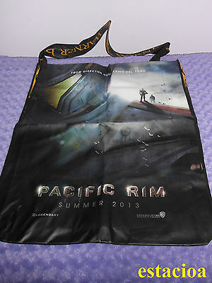 Pacific Rim LARGE Promo Swag Bag, SDCC 2012, Charlie Hunnam Ron Perlman Day