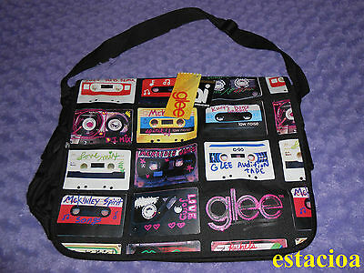 Official GLEE Cassette Messenger Bag, Backpack, NEW Lea Michele Cory Monteith