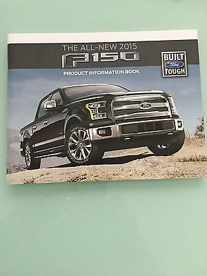 2015 Ford F150 Product Information Guide 48 Pages - RARE Dealers Copy