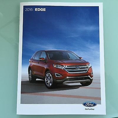 2016 Ford Edge 24 Page Sales Brochure