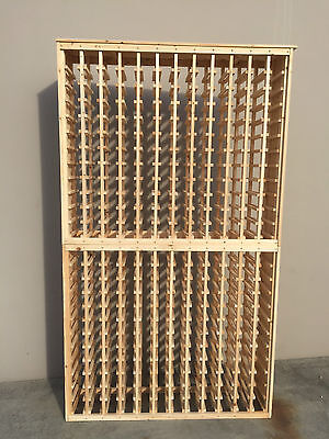 288 Bottle Timber Wine Rack- SALE PRICE- Great Gift idea - wine storage area