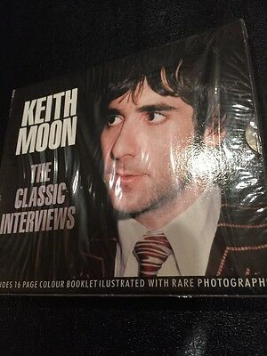 Keith Moon The Who Sealed Cd NIP Rare Interviews New Drummer Won't Get Fooled