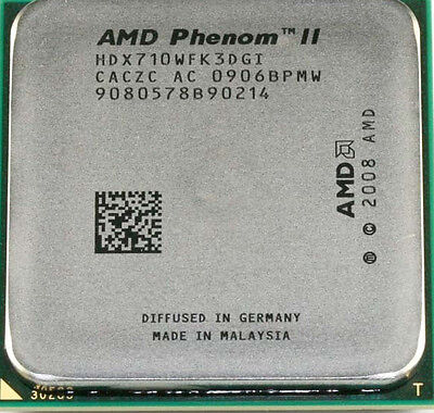 AMD CPU Phenom II X3-710 2.6GHz Socket AM3