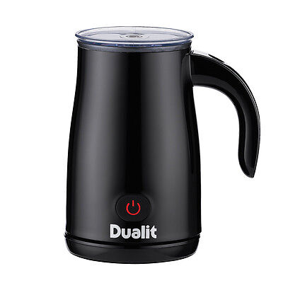 Dualit Milk Frother In Black, perfect temperature simply livening instant coffee