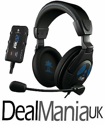 Turtle Beach Ear Force PX22 Headphones for PS3 & Xbox 360