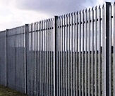 2.4m high - Palisade Security Fencing