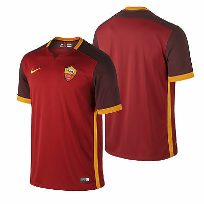 Nike New Shirt AS Roma Home Jersey 2015/2016 Mens Red/Maroon Football Soccer