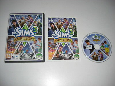 THE SIMS 3 AMBITIONS Pc DVD / Apple MAC Add-On Expansion Pack SIMS3 FAST POST