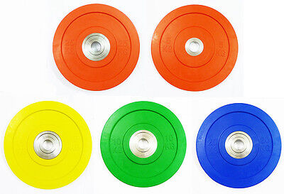 """Ironman Olympic 2"""" Competition Weightlifting Plates 5KG -25KG OLYMPIC FULL SIZE"""