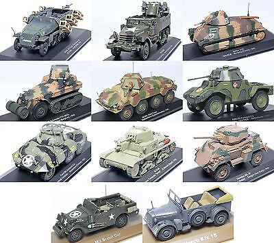 1:43 Scale Military Vehicle Precision Diecast Collectable Model Tank New