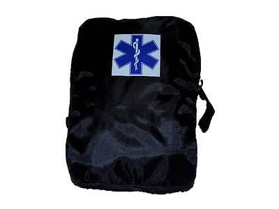 STAR OF LIFE General Purpose Pouch (BLACK) for Ambulance Paramedic 999 St John