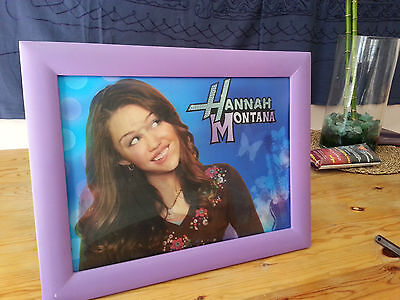 Miley Cyrus Hannah Montana lenticular picture changes with viewing angle