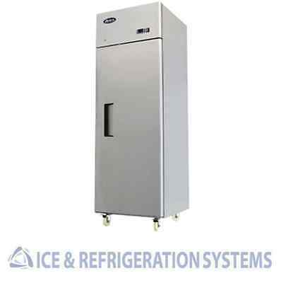 Stainless Steel   Commercial Reach In Refrigerator Cooler 8004