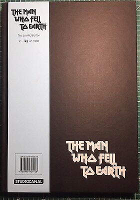 The Man Who Fell To Earth Book David Bowie 40th Anniversary 163/1000