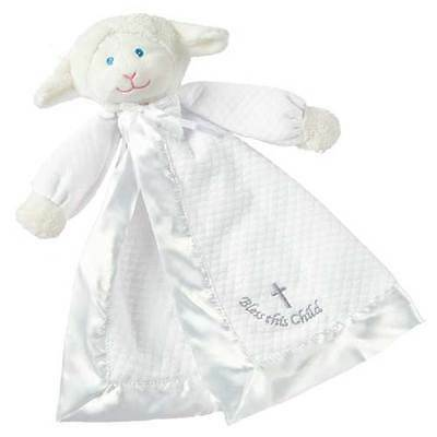 Christening Lamb Blanket by Mary Meyer by Mary Meyer-Adorable! Qty 1 WOW!