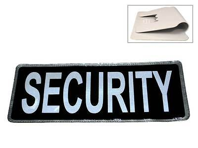 Black SECURITY Reflective Univisor (Sun Visor) for Guard Patrol SIA Bouncer 999