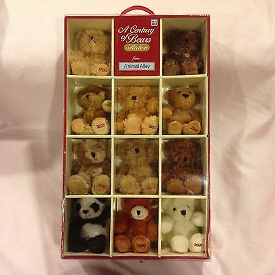A Century of Bears from Animal Alley Bear Collection