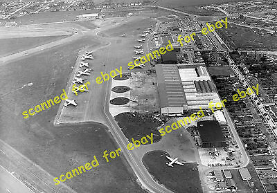 Photo - Southend airport aerial view, 1963