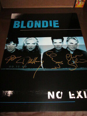 Blondie No Exit 2 Sided In-Store Promo Poster
