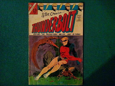Peter Cannon Thunderbolt Comic #58 Dated July 1967