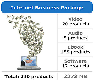 Internet Business Package / 230 Products / Large Collection