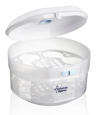 Tommee Tippee Essentials Microwave Steriliser Cold Water Steriliser Baby Bottles