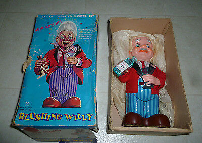 Vintage - Blushing Willy - Battery Operated Electro Toy - W/ Orignal Box