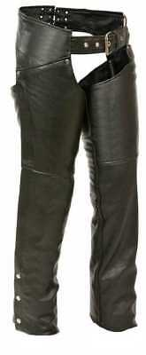 Milwaukee Leather Women's Chaps w/ Hip Pockets ML1173 (Small)