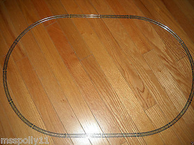 """""""n"""" Scale Train Track Set About 30 By 20 Inches Set Of An Oval Track (New)"""