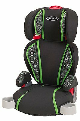 Graco Turbo Booster - High Back & Backless Child Car Seat - Spitfire