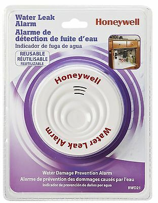 Honeywell RWD21 REUSABLE WATER LEAK ALARM DÉTECOR DÉTECOR D'EAU USAGE MULTIPLE