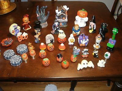 Large Lot of 42 Halloween Candles