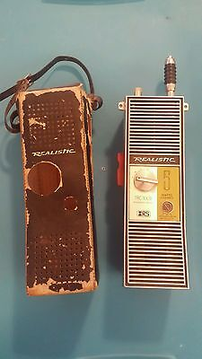 Realistic Transceiver TRC-100B Citizens Band, 5 watts, 6 channels, vintage