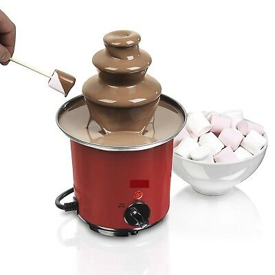Chocolate Fondue Fountain Mini Kids Birthday Party Wedding Dinner Kitchen Gifts
