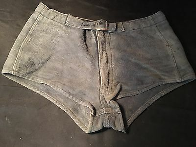 Antique Vtg Men's Swim Trunks Wool Swim Shorts Waterski Goldsmith Rochester
