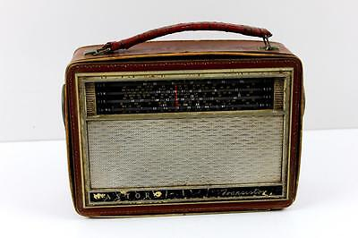 Astor portable radio second hand 25cm wide x 18cm high (condition untested)