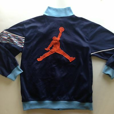 Vintage 90's  Nike Air Jordan Basketball Bulls Track Suit Jacket Juniors NBA