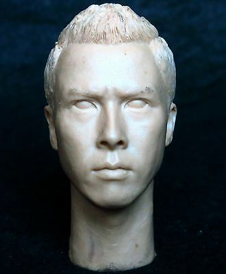 1/6 scale plastic unpainted action figure head sculpt donnie yen enterbay