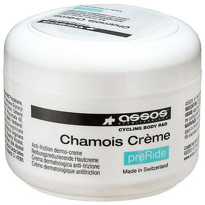 Assos Chamois Cream 140ml - Bib Tights, Shorts Pad Cream Cycling Anti Chafe Balm