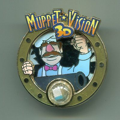 Disneyland Muppet Vision 3D Swedish Chef Piece of Disney History Collection Pin