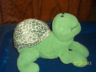 First & Main Flopple 5185 The Green Turtle Plush