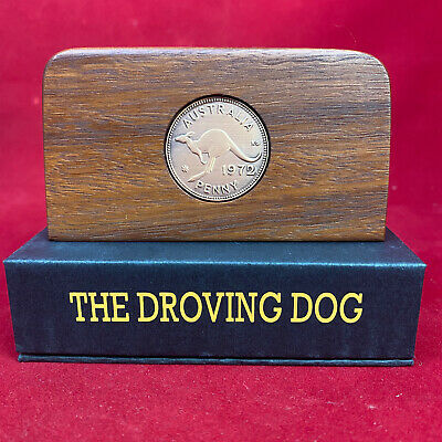30th wedding anniversary Jarrah Plaque w/ 1988 penny. Other years available