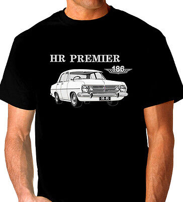 1966  1967  Holden Hr   Premier  Sedan   Quality  Black  Tshirt